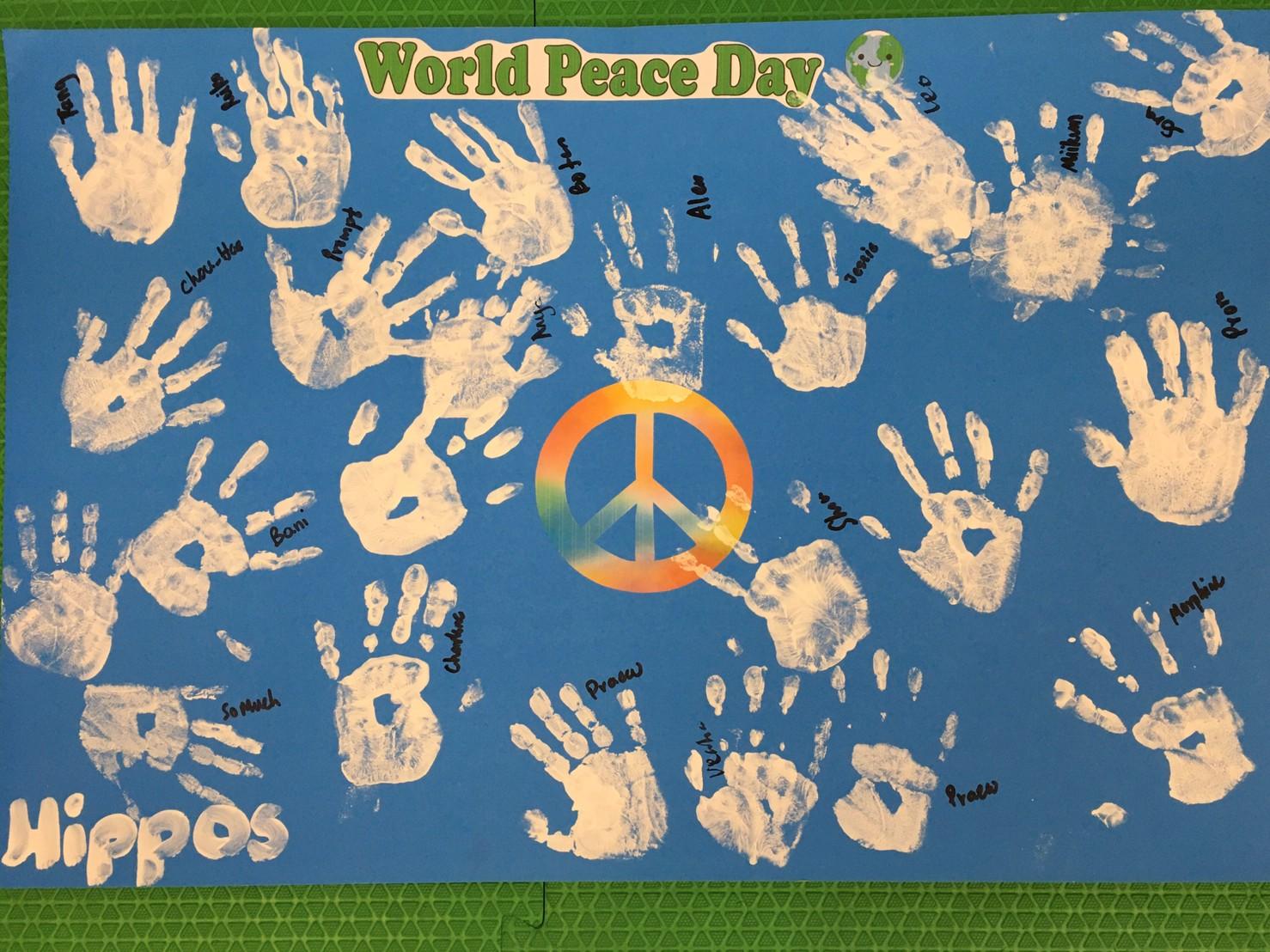 Kindergarten Peace Day